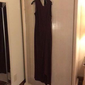Ralph Lauren, Burgundy Dress